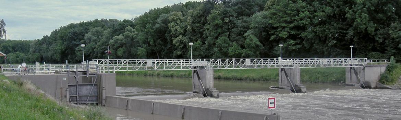 Kilometráž řeky Moravy